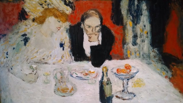 picasso, the diners